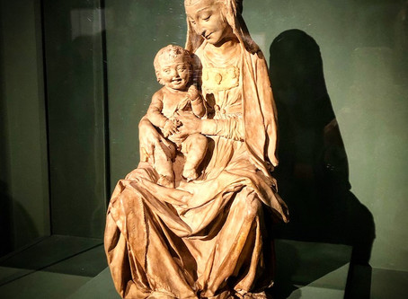 Victoria & Albert museum, in London, have possibly the only Leonardo da Vinci sculpture