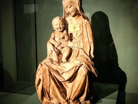 Victoria & Albert museum, in London, have possibly the only Leonardo da Vinci sculpture