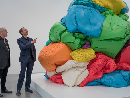 Gagosian not in a rush to deliver Koons artworks..