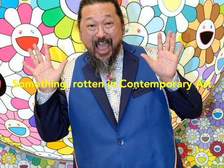 There is something rotten in contemporary art.