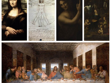 Leonardo da Vinci, 5 most important works
