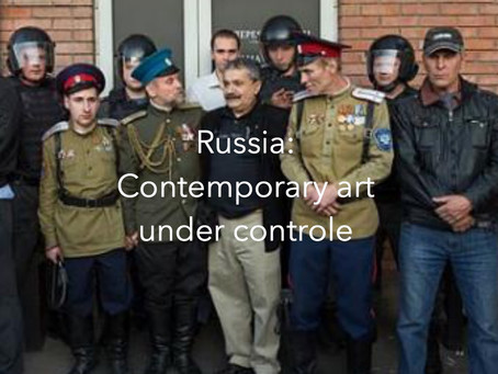 Russia: contemporary art under the yoke of power