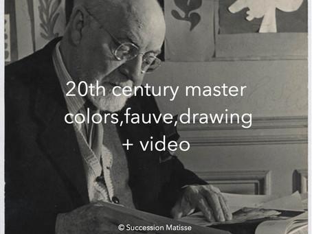 Matisse a genius of the 20th century