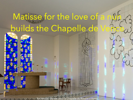 Matisse confesses to his muse who turned nun