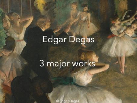 Edgar Degas, major works and video 600 paintings