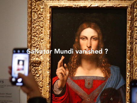 "A ""Salvator Mundi"" from the school of Leonardo da Vinci found at a Neapolitan home."