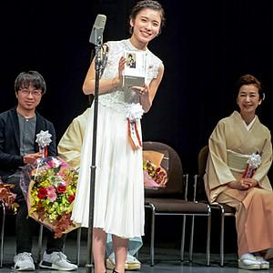 第40回山路ふみ子映画賞贈呈式