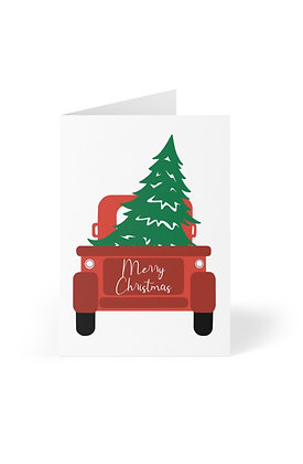 Christmas Truck Set