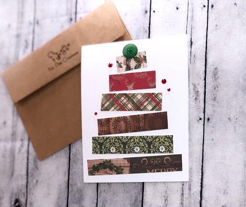 Christmas Paper Tree Set