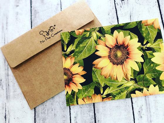 Sunflower Set Of 4
