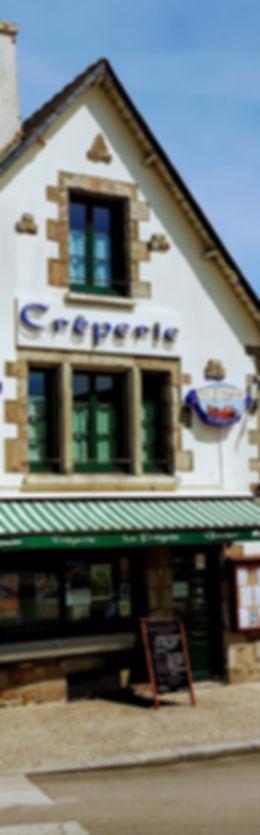 Crêperie bretonne traditionnelle La Frégate Guidel pays de Lorient  façade