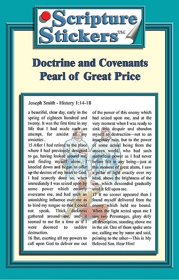 Doctrine and Covenants / Pearl of Great Price