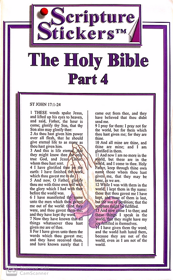 The Holy Bible - Part 4