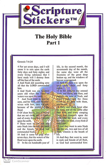 The Holy Bible - Part 1