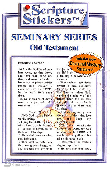 Seminary - Old Testament