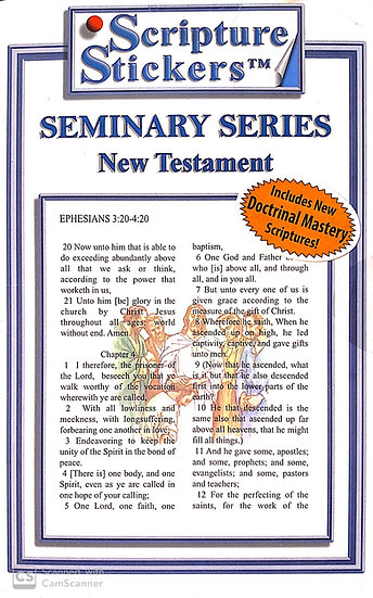 Seminary - New Testament