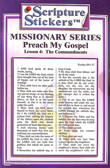 Preach My Gospel - Lesson 4