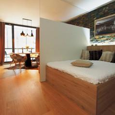 Brunetti Design Apartment Prague with a garage