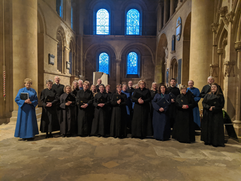 Choral Evensong at Southwell Minster, February 2020