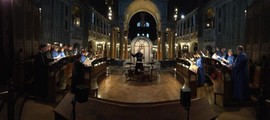 Westminster Cathedral rehearsal 2018