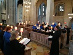 St Edmundsbury Cathedral rehearsal 2018