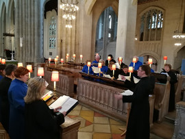 St Edmundsbury Cathedral rehearsal 2018