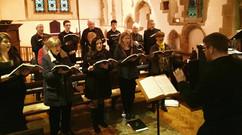 Sacred and Profane concert, All Saints' Warlingham 2019