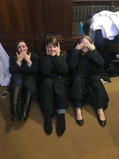 Speak no evil, hear no evil, see no evil at Westminster Cathedral, 2018