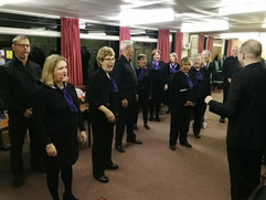 Amici Coro singing workshop and concert at All Saints' Warlingham, 2017