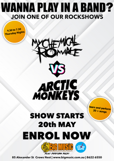 My Chemical Romance vs Arctic Monkeys