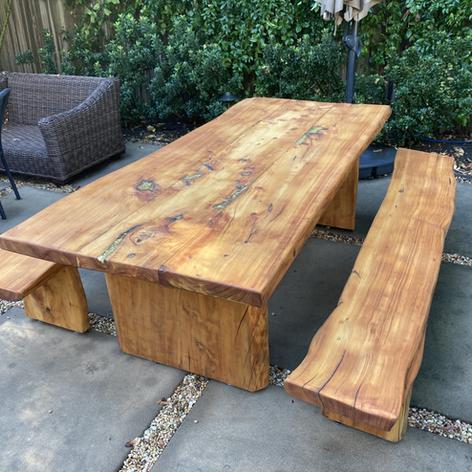 Cypress Table Refinish