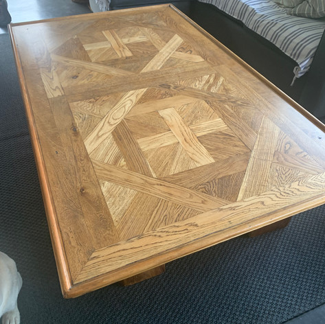 Coffee Table Refinish