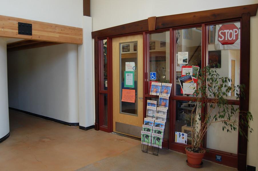 Reclaimed Redwood Door Casement