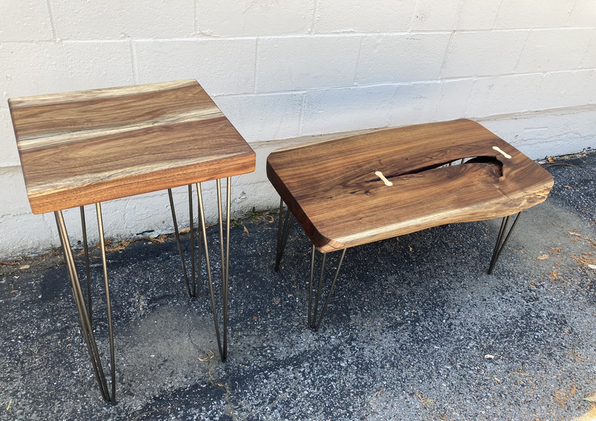 Reclaimed Black Acacia Coffee Table and