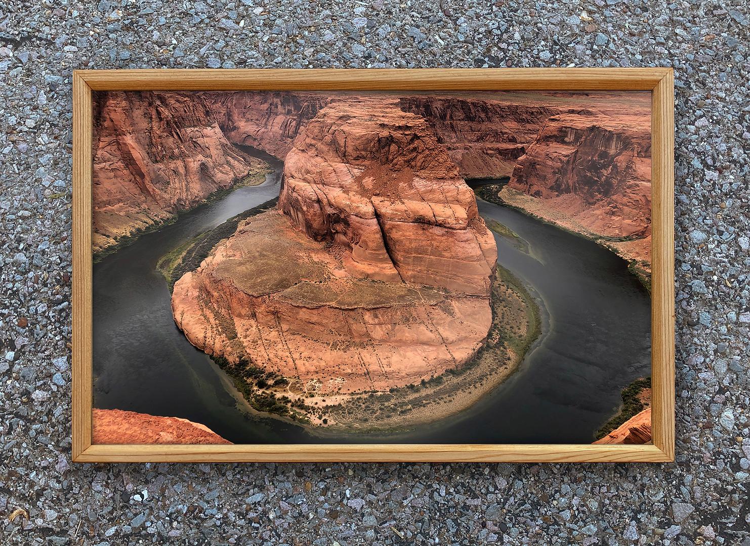Reclaimed Cedar Frame