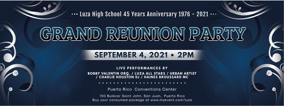 Grand Reunion Party LUZA