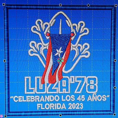 Parcho/Patch LUZA'78 - Florida 2023