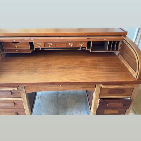 Mahogany Rolltop Desk