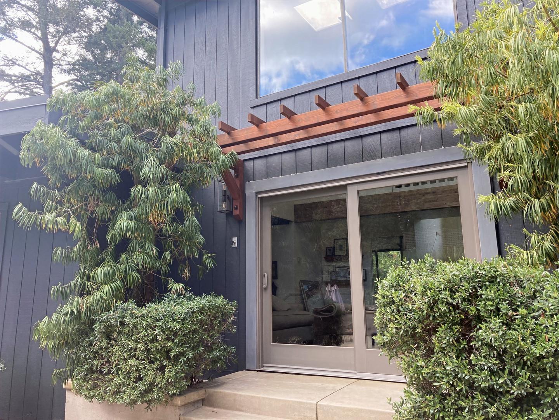 Redwood Pergola