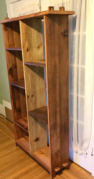 Reclaimed Redwood Bookcase