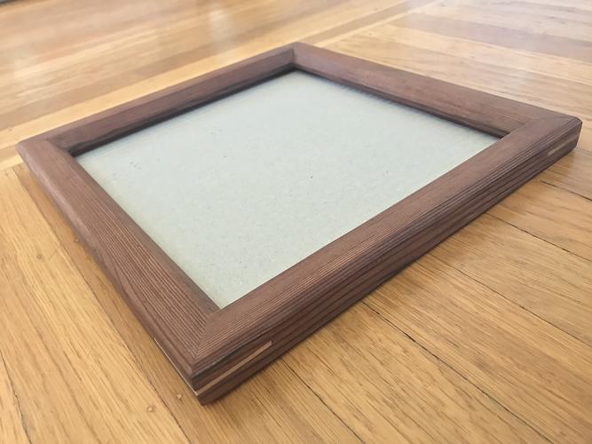 Reclaimed Redwood Frame