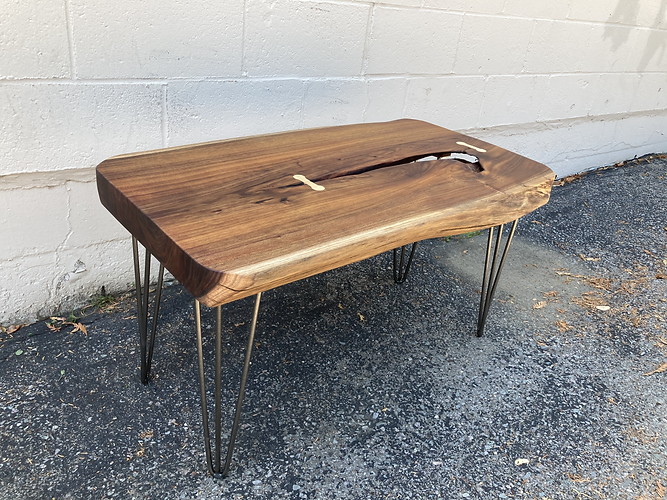 Reclaimed Black Acacia Coffee Table