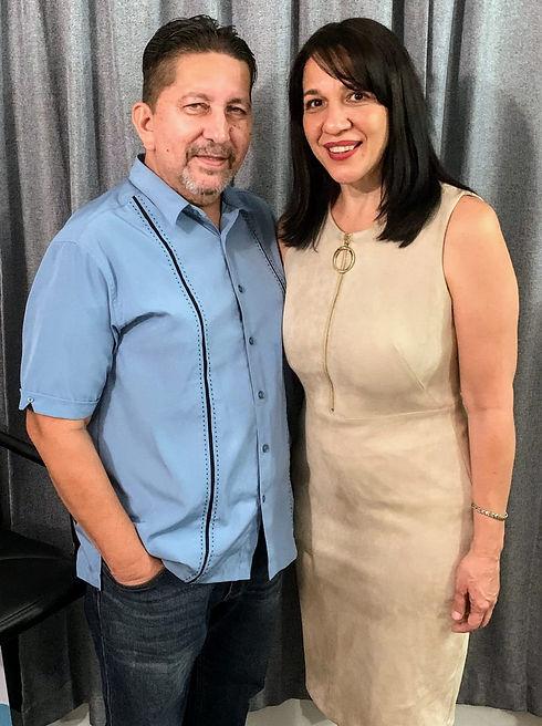 Pastores Jose y Lourdes Lucuara en Casa De La Palabra PR
