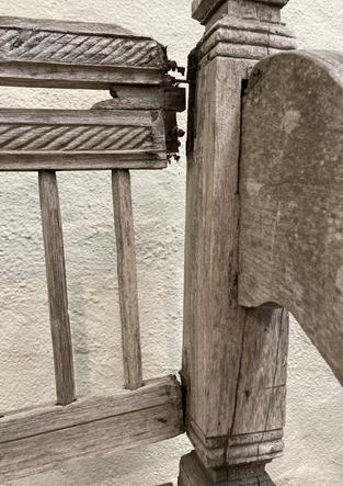 Teak Bench Repair and Refinish