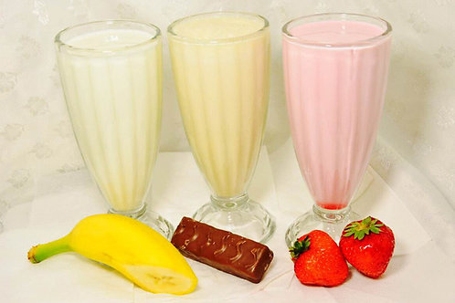 Коктейли молочные