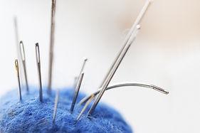 Yarn Ball with Needles