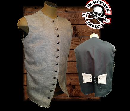 A light brown linen Jack Vest