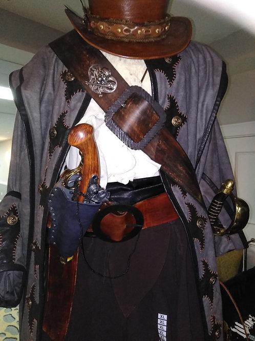 Burnt Brown Pirate Baldric Sword Hanger