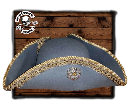 Grey Captain's Hat