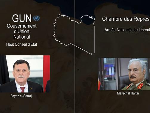 Une Libye déchirée en deux en route vers une potentielle réunification